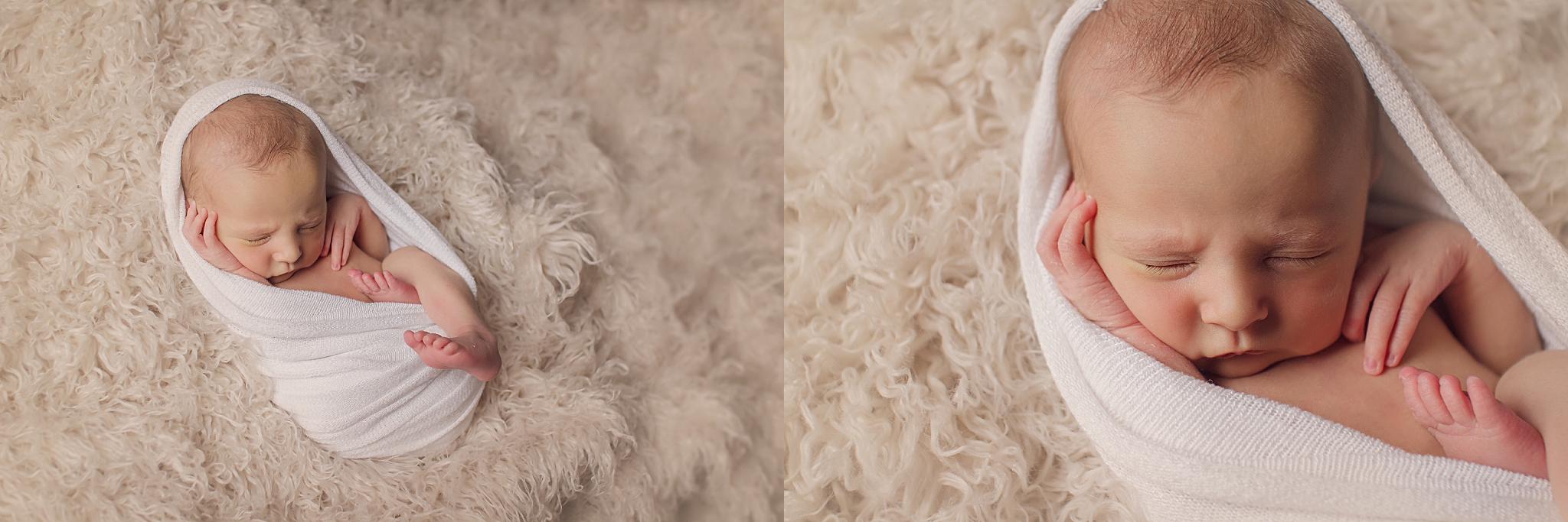 Blanchard Newborn Photographer | Baby Mesa