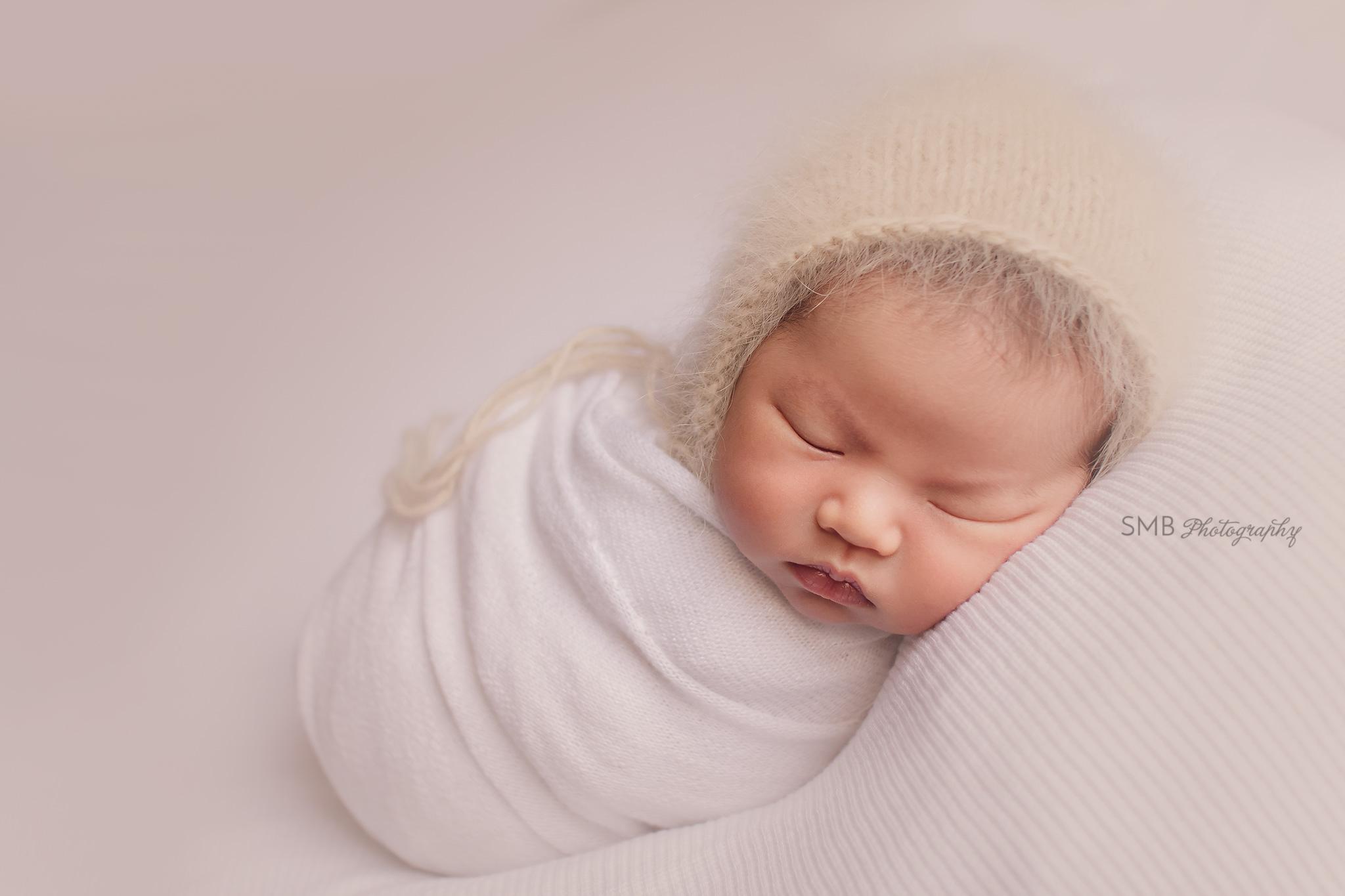 Sneak Peek: Baby Gwen   Oklahoma City Newborn Photographer