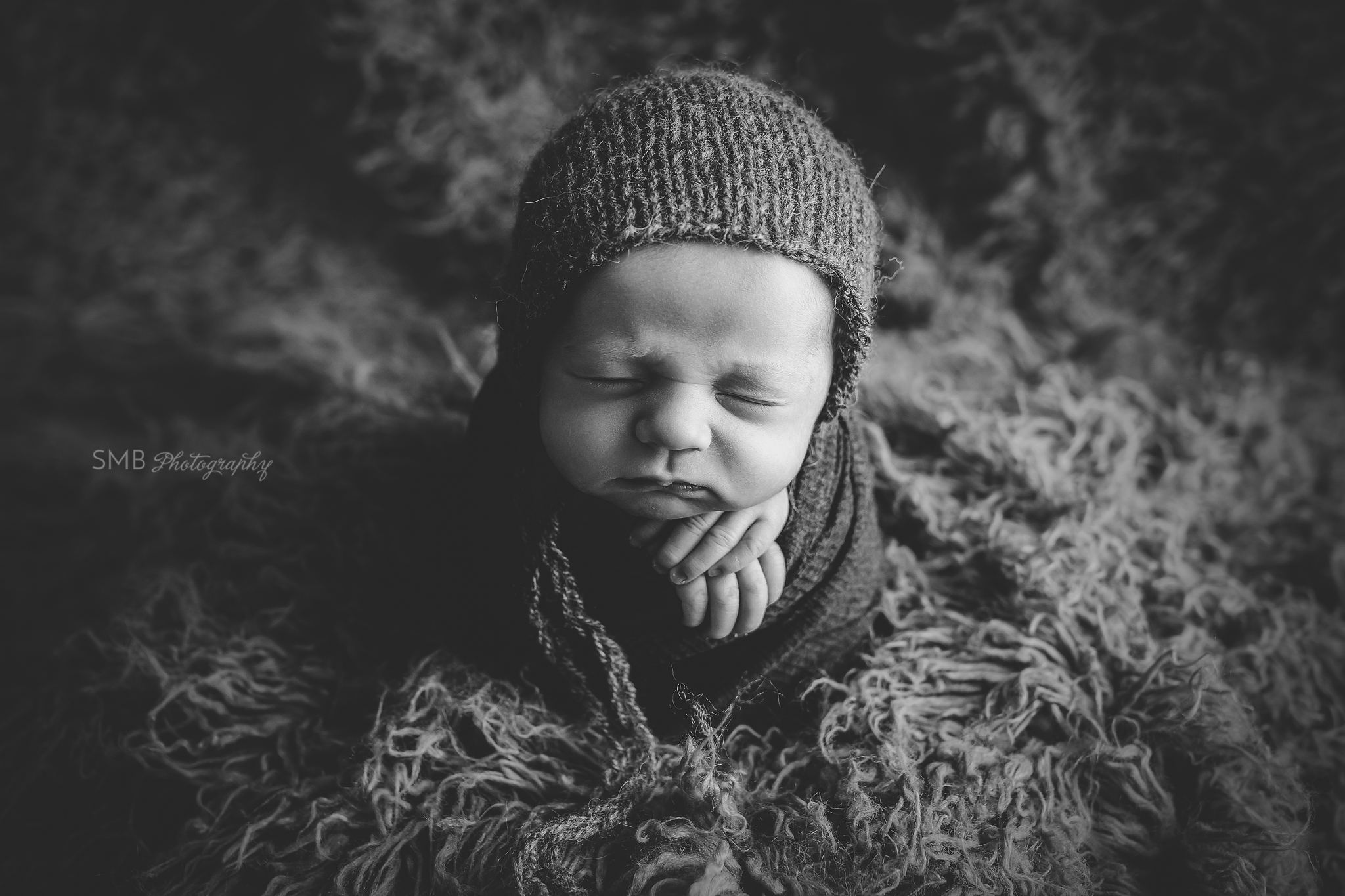 Central Oklahoma Newborn Photographer | Baby Kane