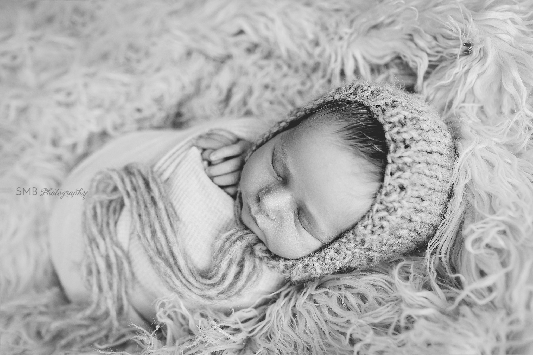 Oklahoma Photographer - Baby Carson - Newborn Session