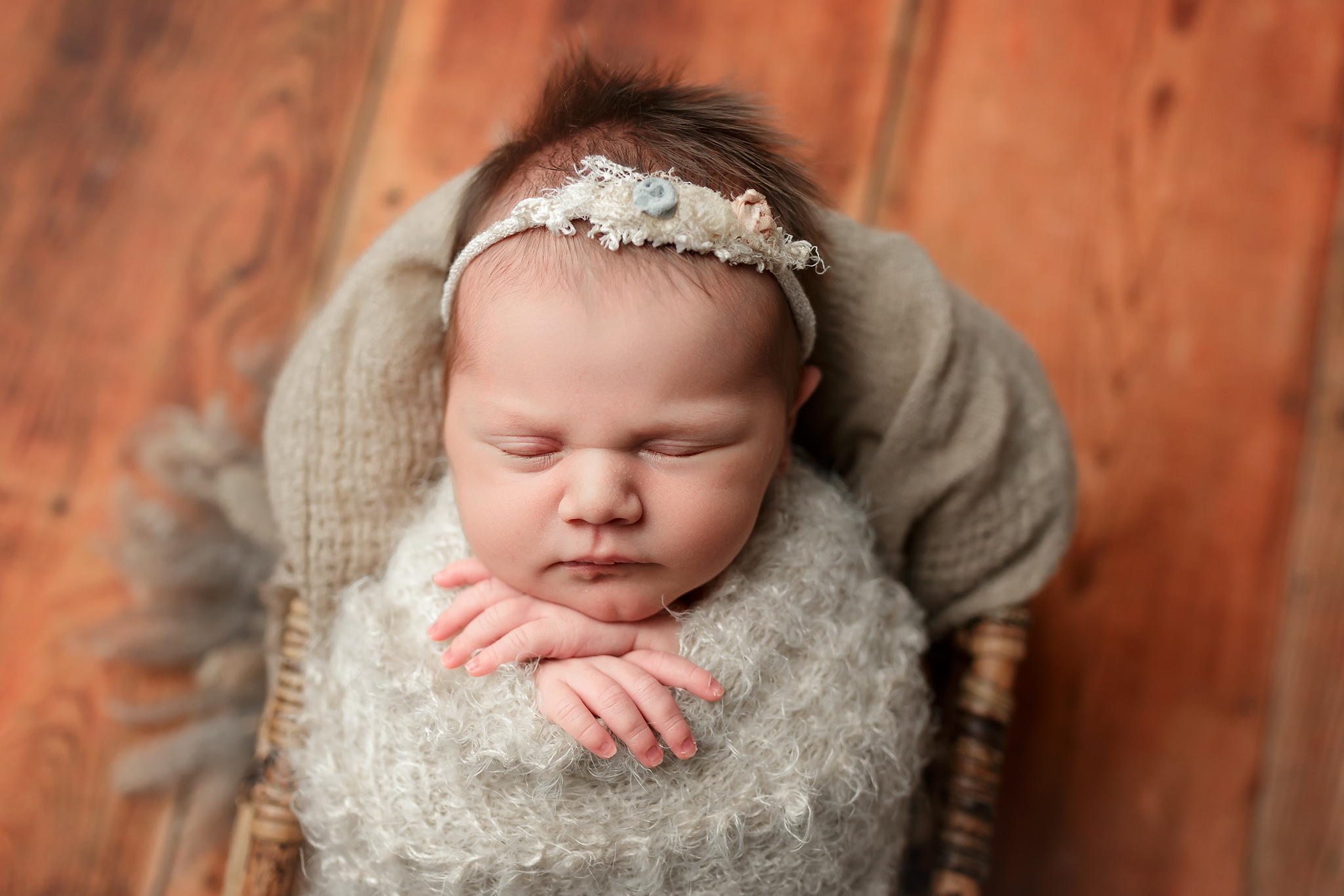 Maya | Oklahoma City Newborn Photographer