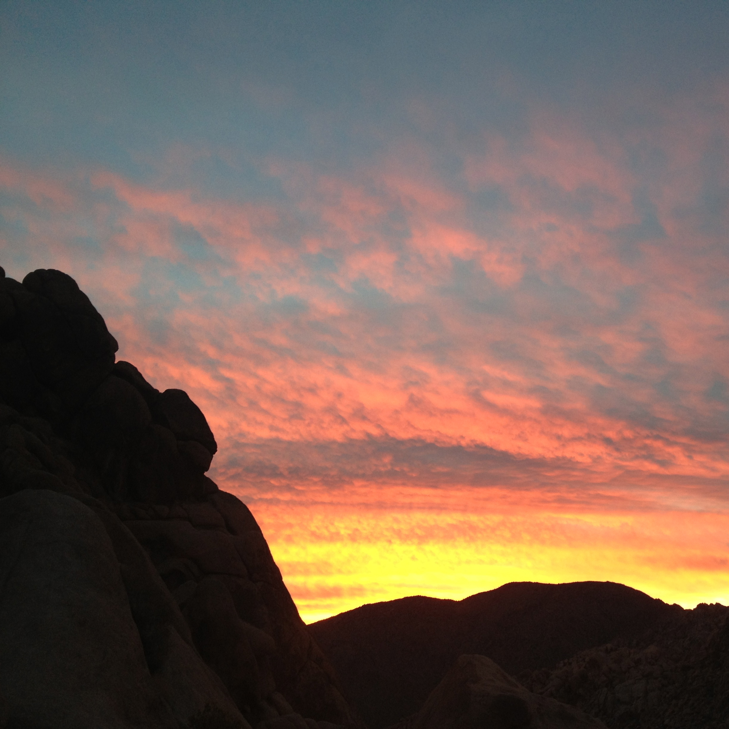 Sunset, Joshua Tree, California