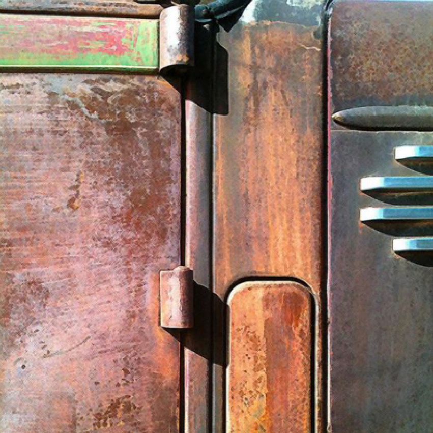 Farm Truck Door, Santa Fe, New Mexico