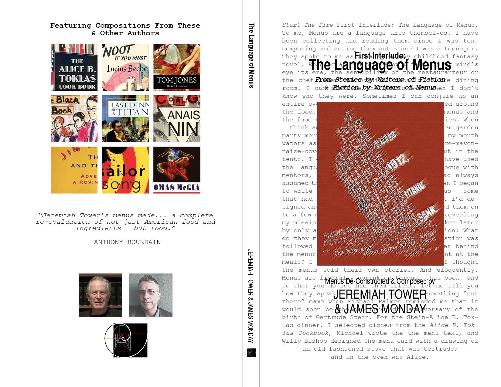 First Interlude: The Language of Menus