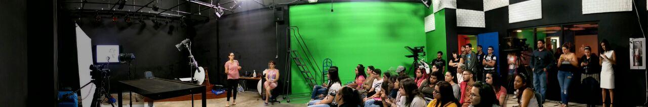 TV Studio at University of Puerto Rico - Humacao. Photo Credit: Elijah Alicea
