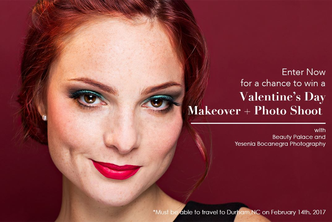 Makeover and Photo Shoot with Beauty Palace and Yesenia Bocanegra Photography