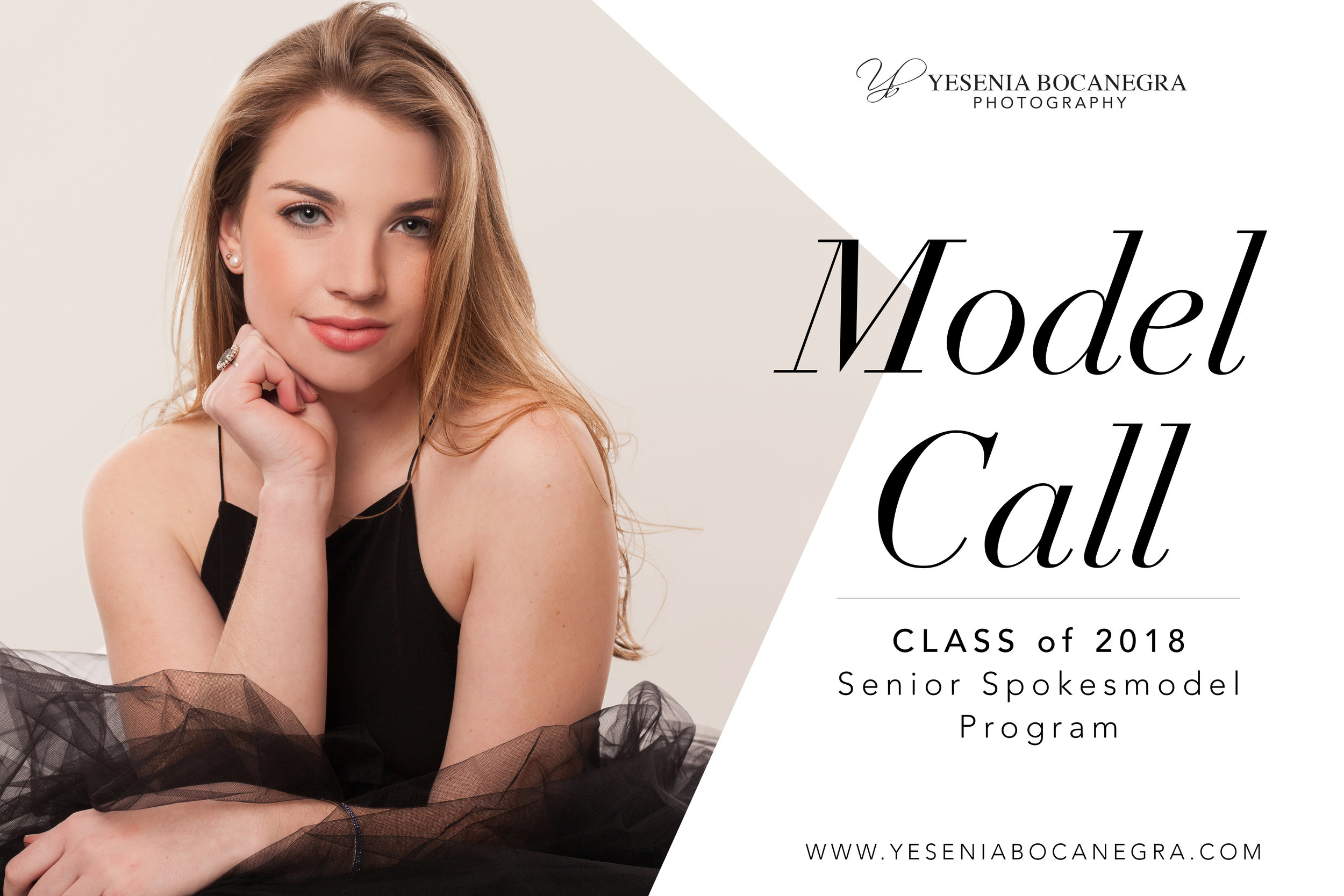 Accepting applications for our brand new Senior Spokesmodel Program for the Class of 2018. Must be a resident of the Raleigh-Durham-Chapel Hill area to participate.