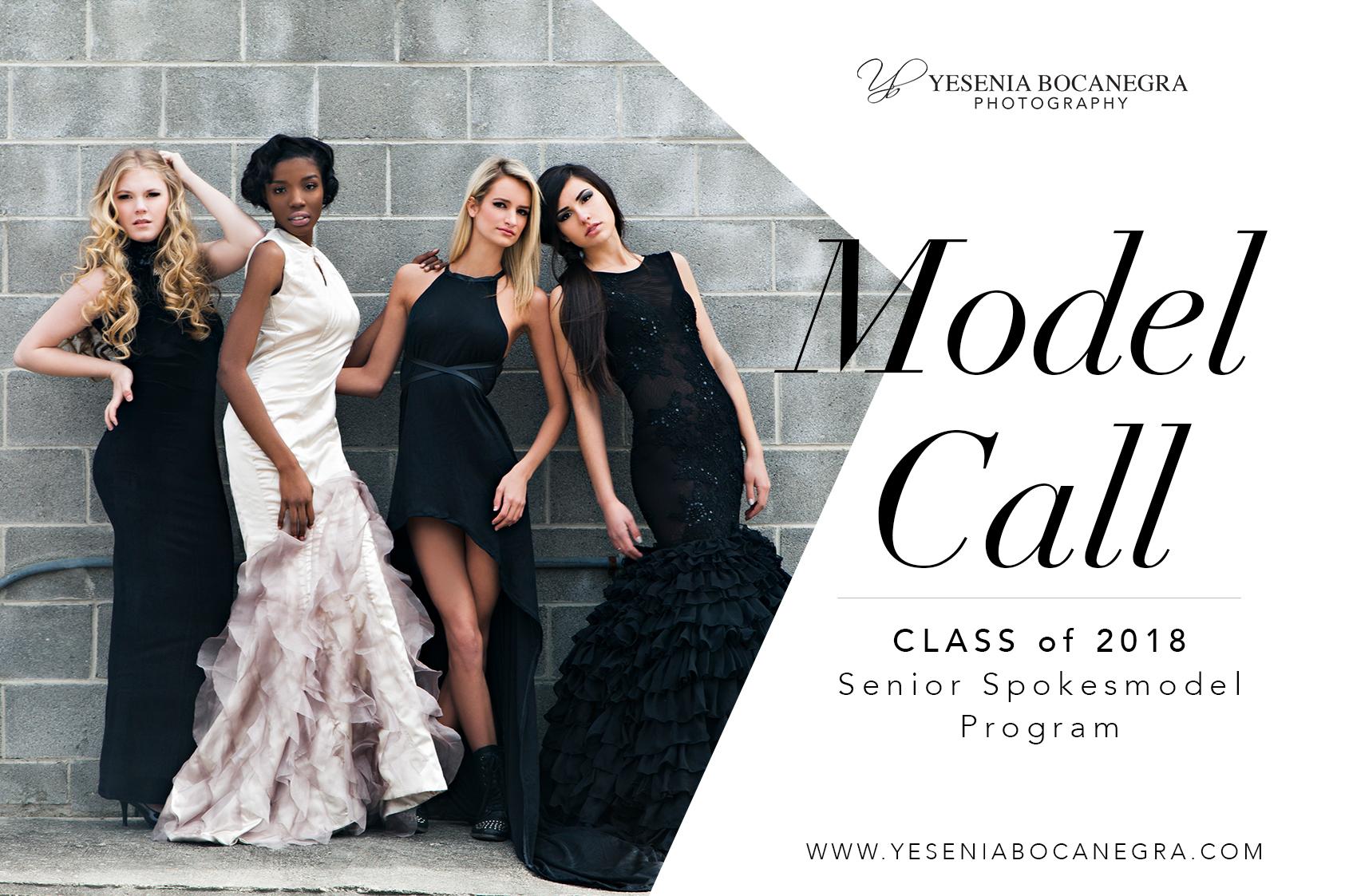 NEW!!!! Yesenia Bocanegra Photography Senior Spokesmodel Program - Apply now!