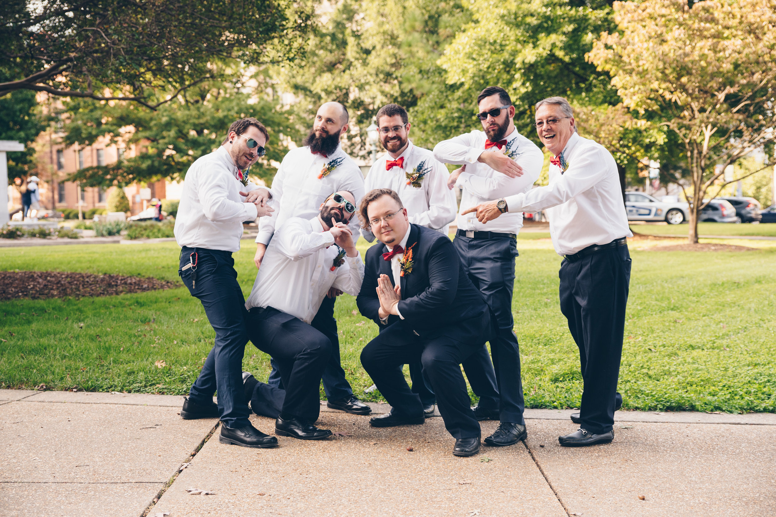Raleigh Wedding Photography Groomsmen