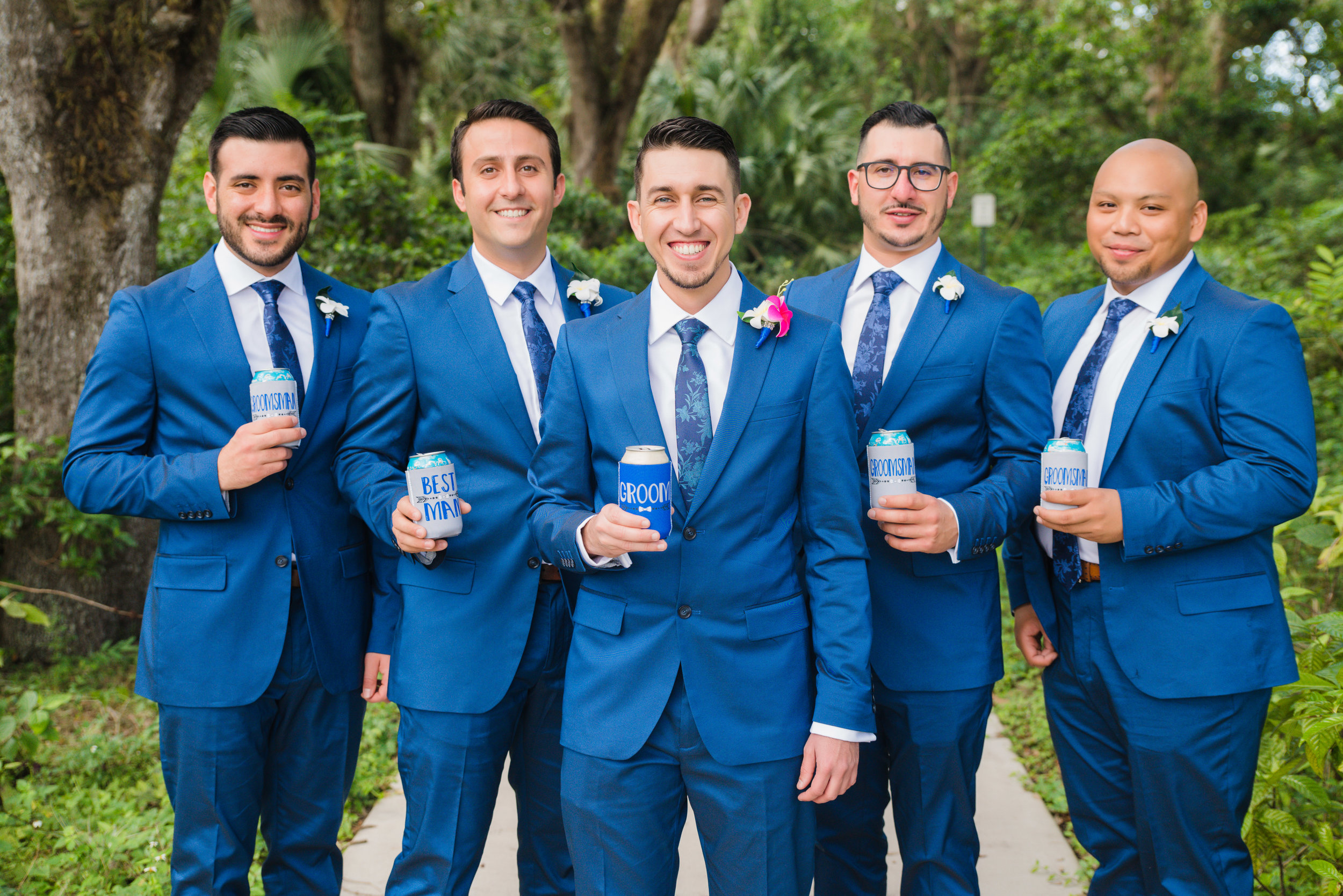 Groomsmen Portraits - Destination Wedding