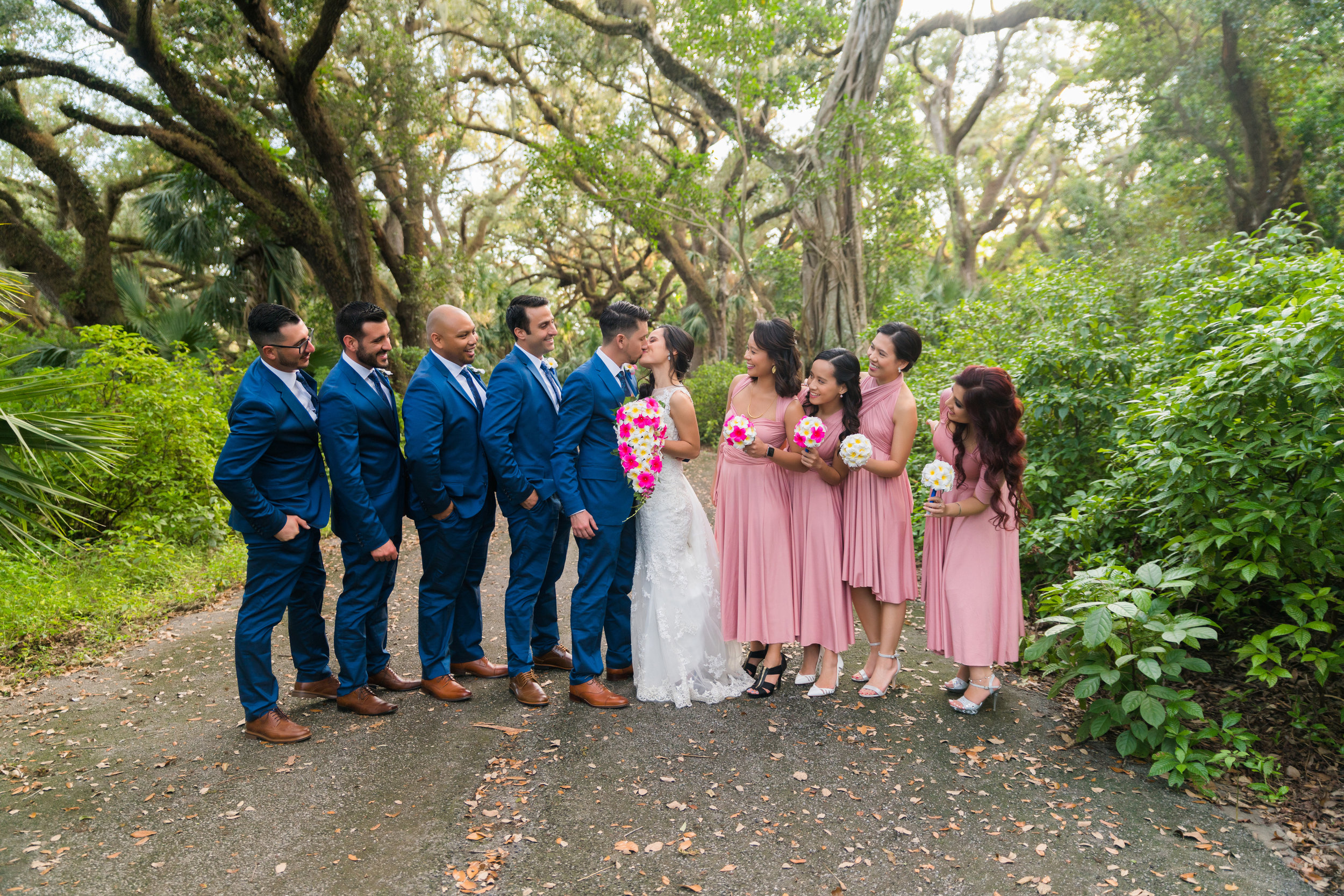 Wedding Party Portraits - Destination Wedding