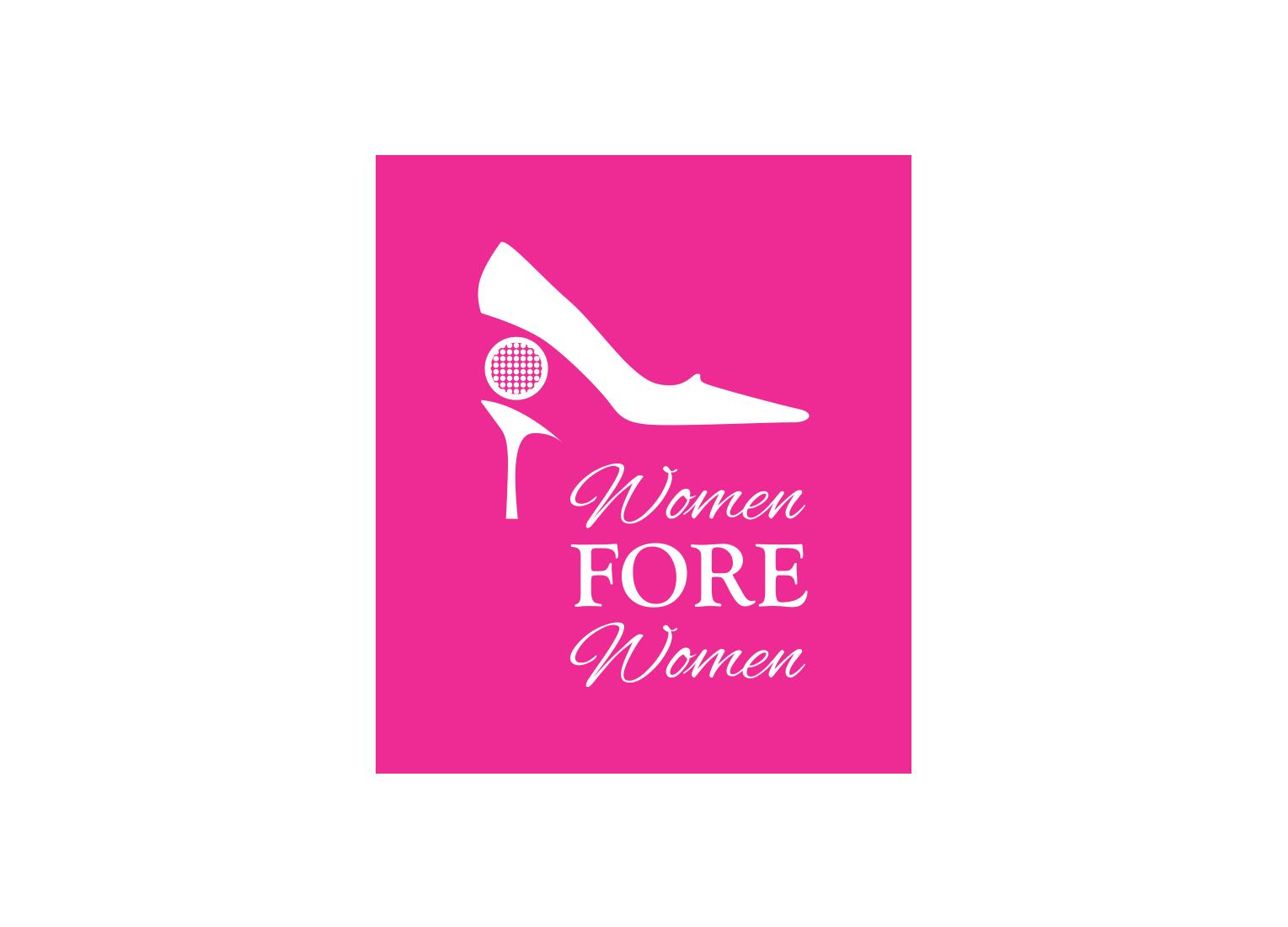 Copy of Women Fore Women Logo Design
