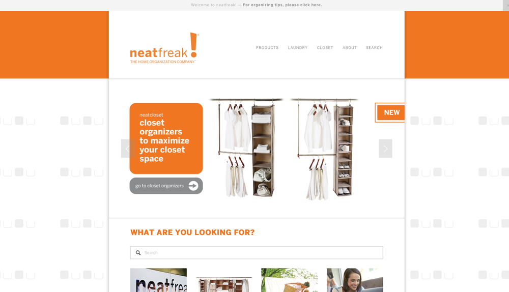Neatfreak Brand and Product Site