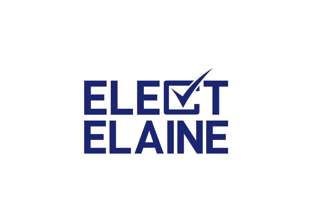 Copy of Elect Elaine Logo