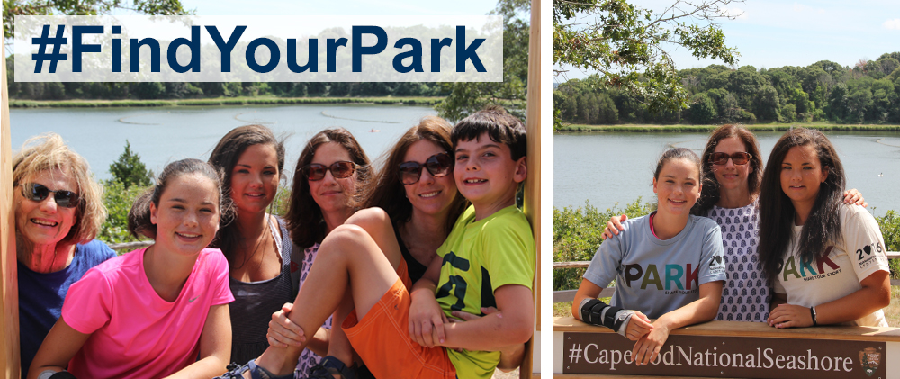 August 25, 2016... 3 generations loving  #CapeCodNationalSeashore !
