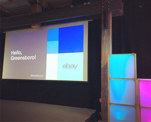 We're excited to announce that One Day Apparel was accepted to EBay's 'Retail Revival' program here in Greensboro. We're anticipating great things for our mission and community! #ebayretailrevival #greensboro #dgso @onedayapparel #funding #cancerresearch #donations