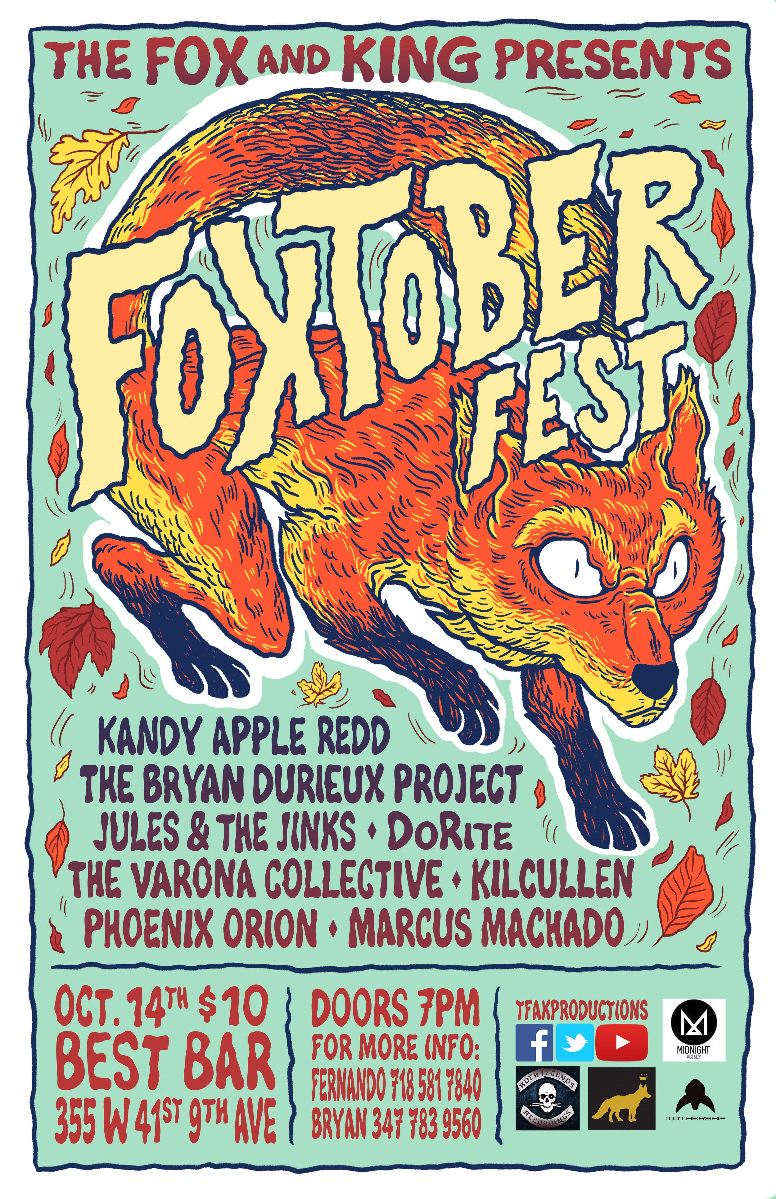 Foxtober Fest Flyer