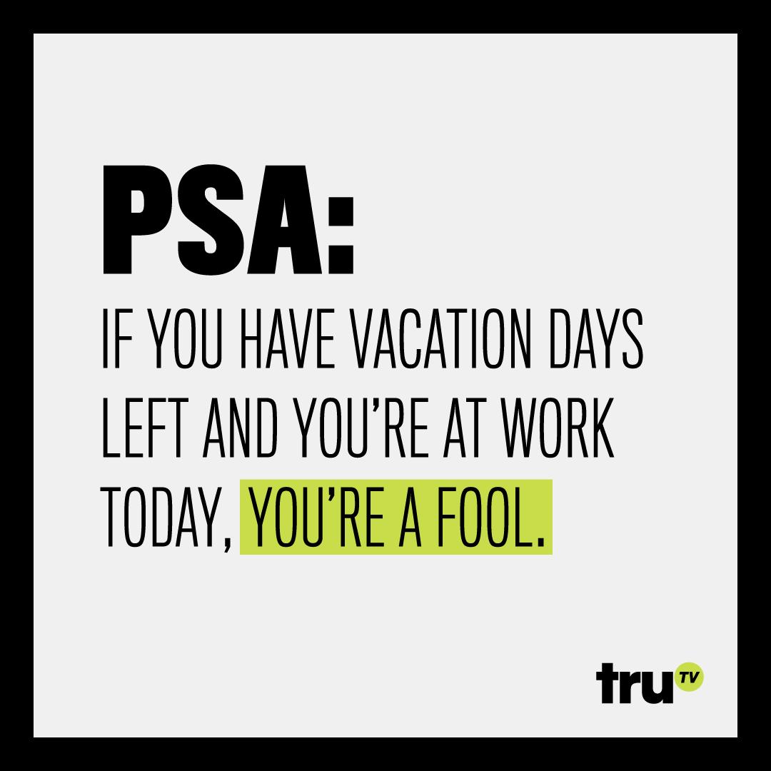 truTV PSA Social Post