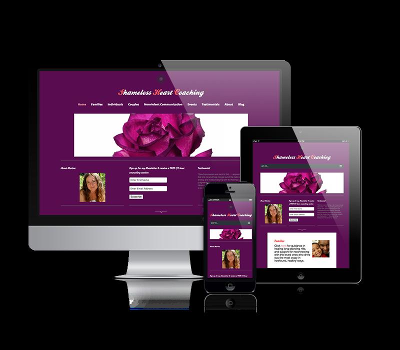 Website: Before