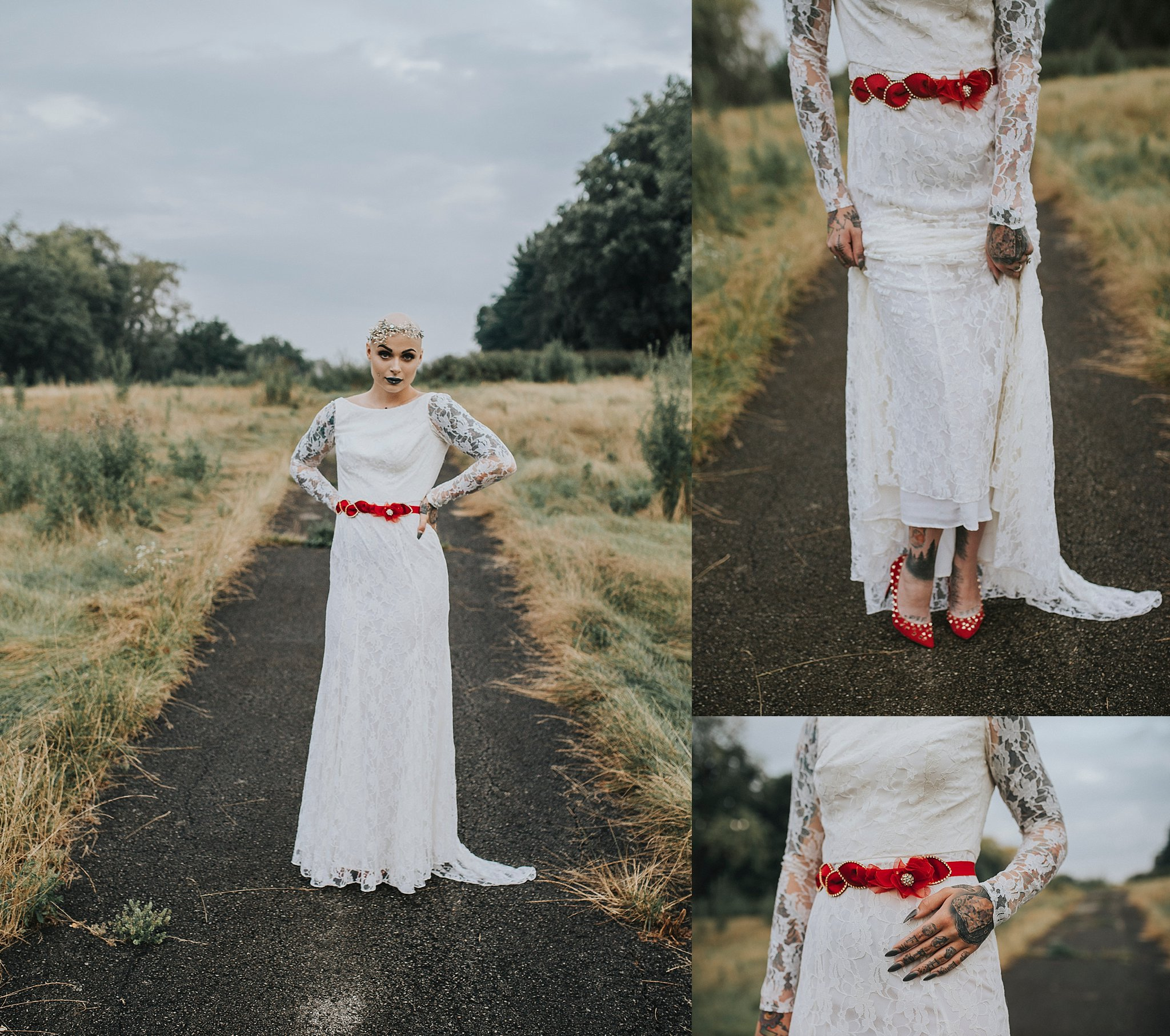 Bald bride by Sandrachile
