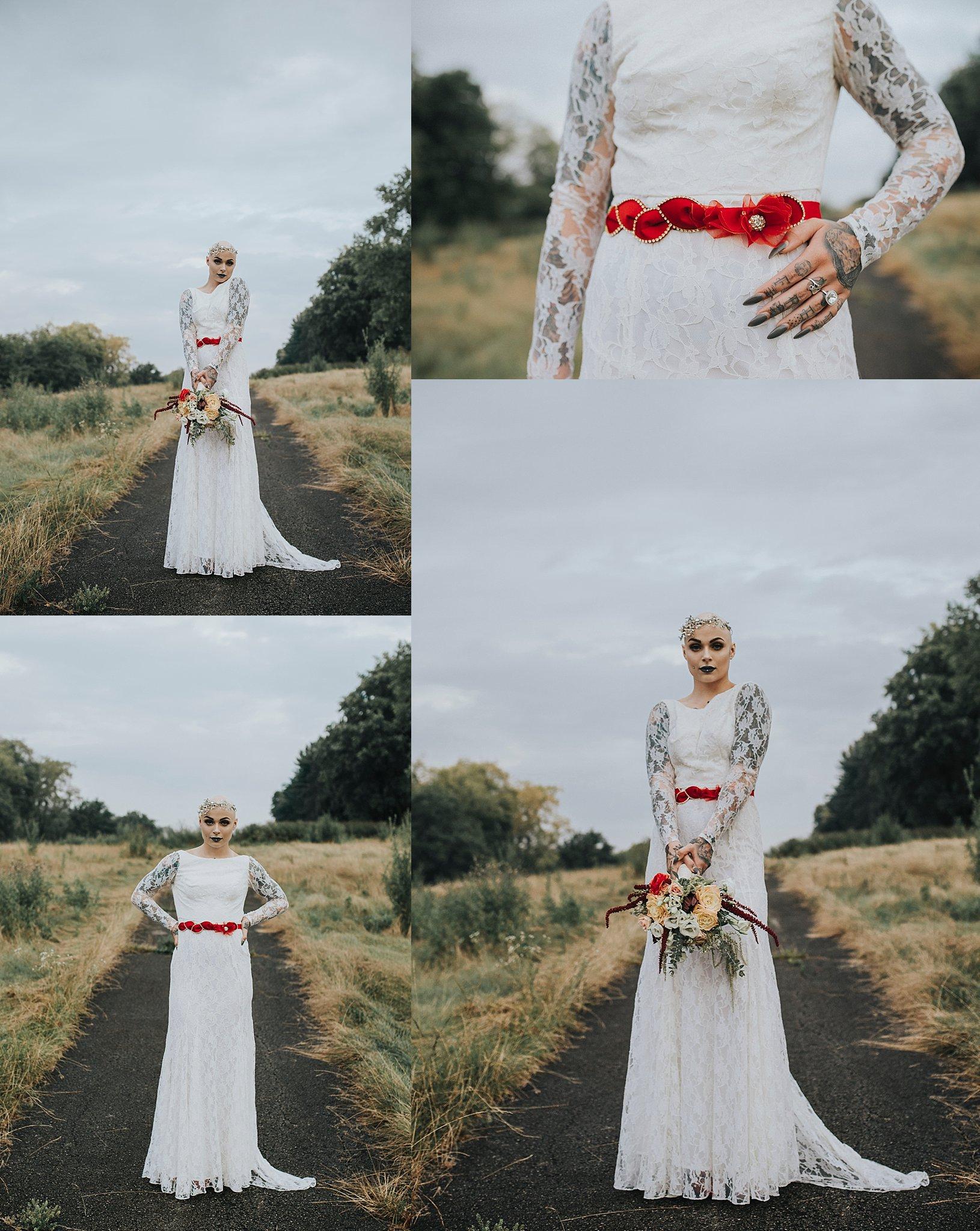 Bald bride   Pittsburgh wedding photographer