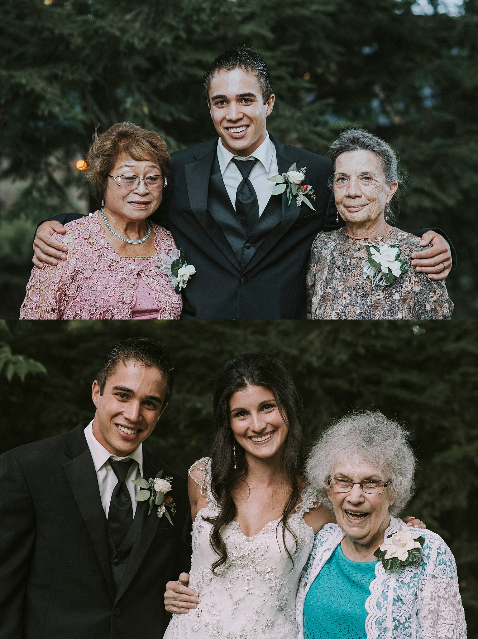 Grandmas at weddings