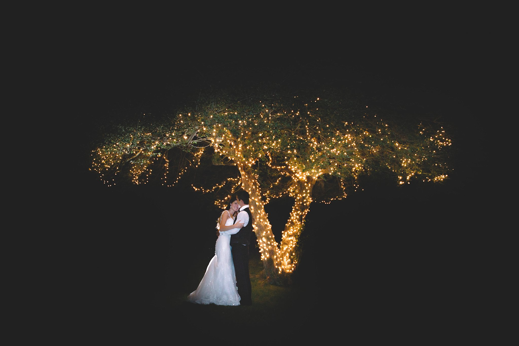 Wedding Photography- night portrait