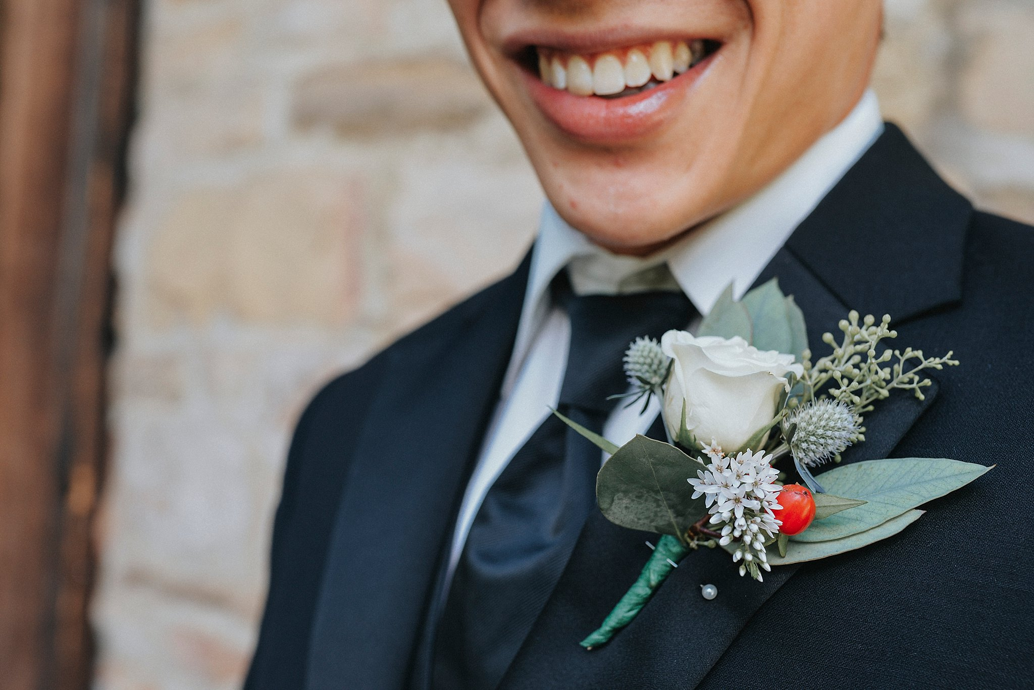 Groom coursage