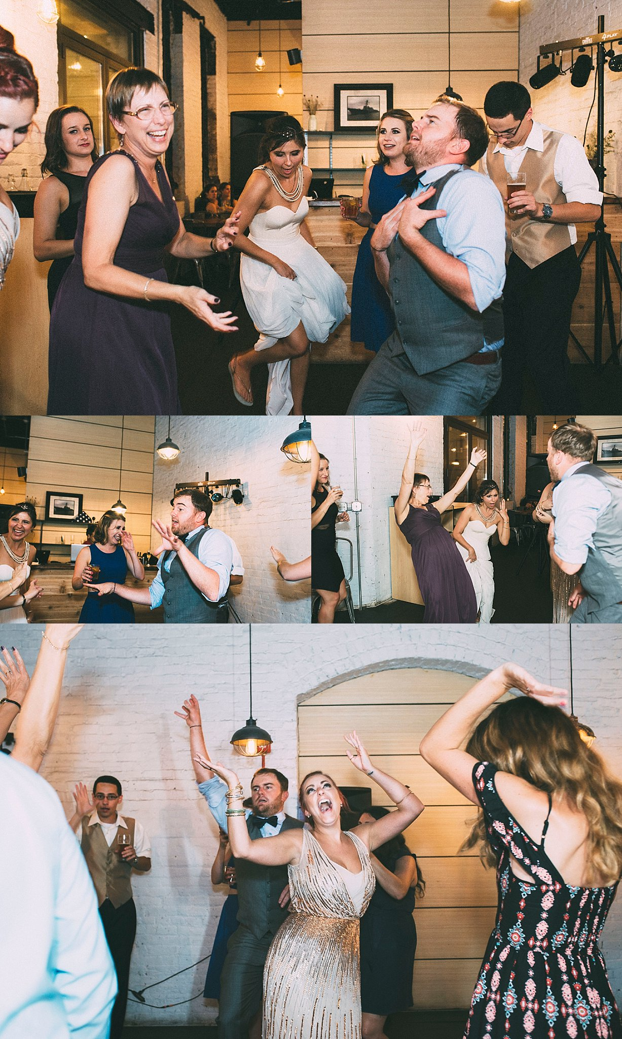Memorable wedding parties