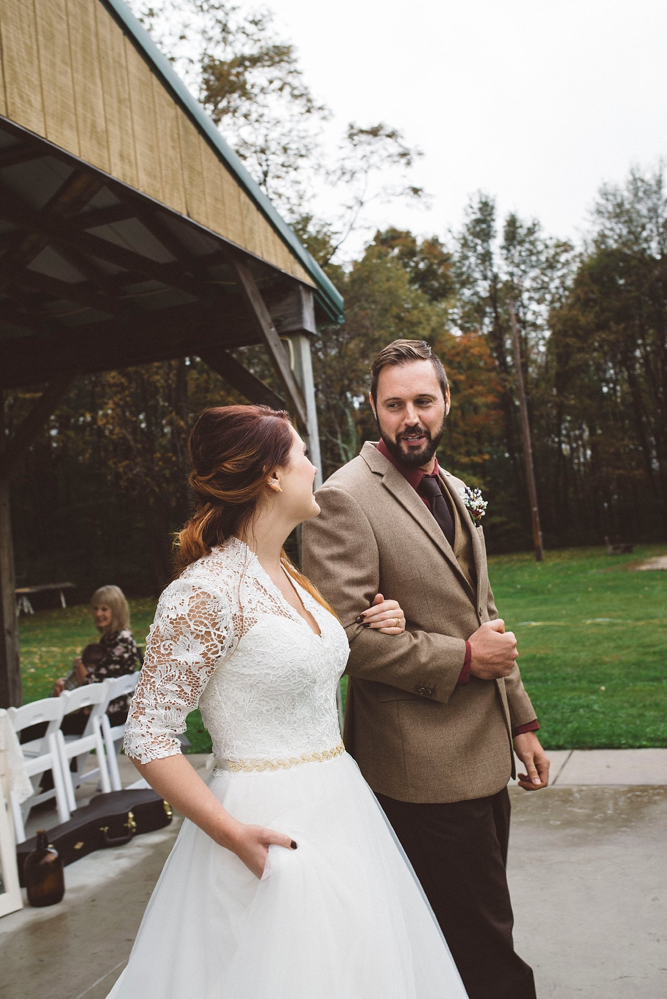 Just married - Pittsburgh wedding