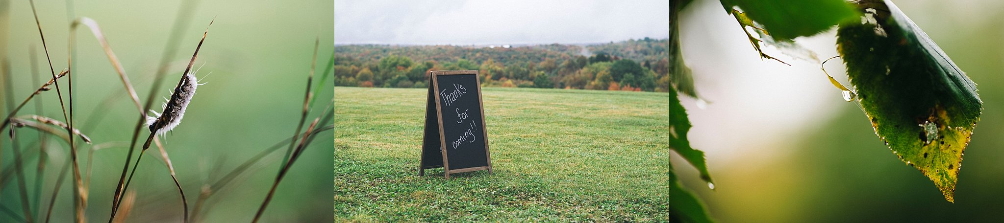 Fall wedding Pre ceremony - Pittsburgh wedding
