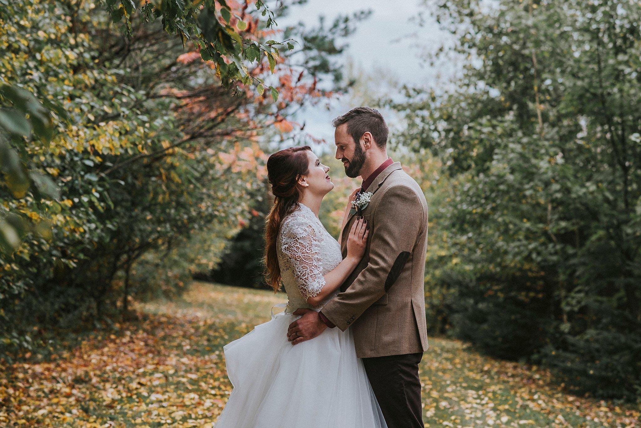 wedding in the fall Pittsburgh