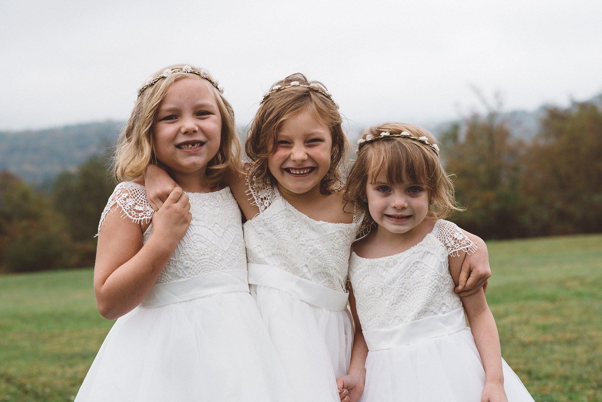 Candid children wedding Pgh