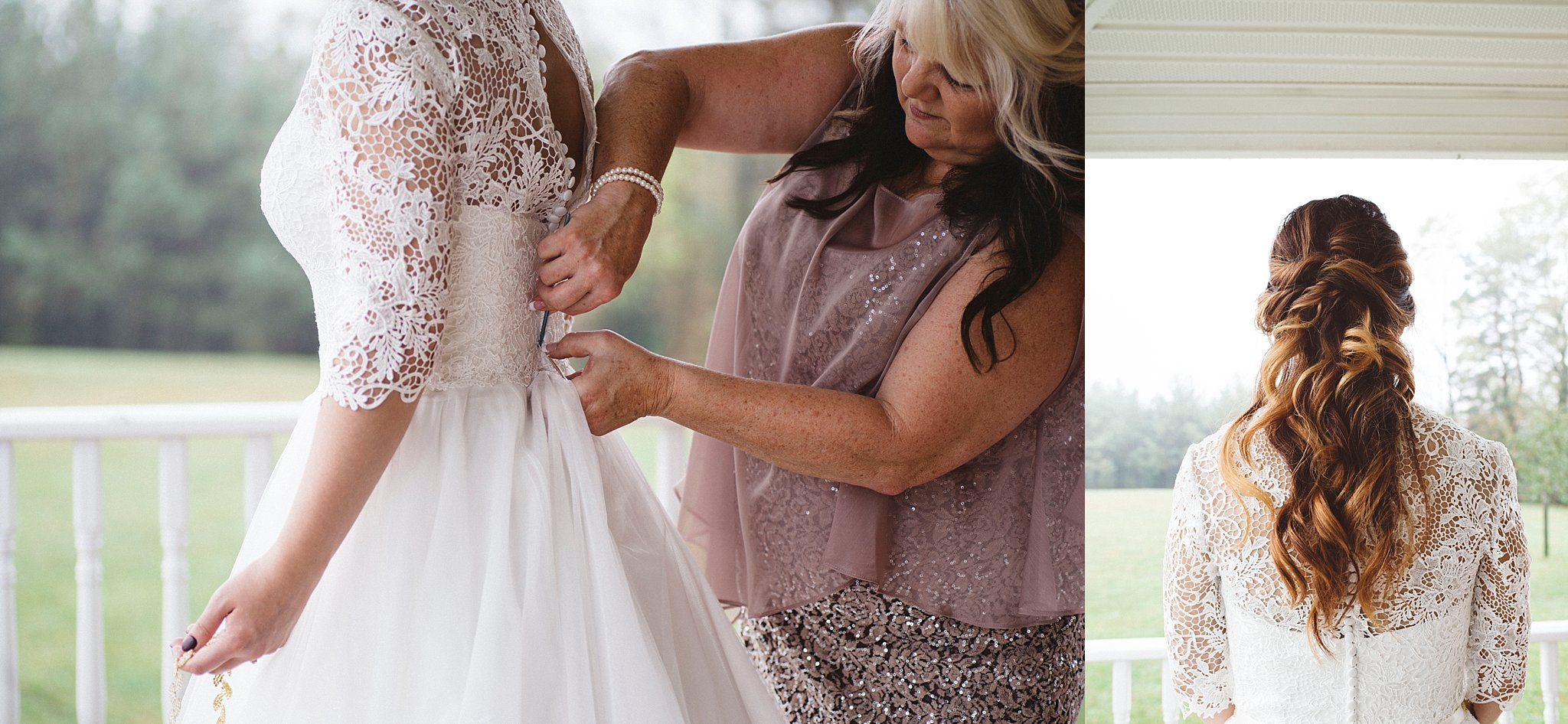 Wedding hair Pittsburgh wedding photographer