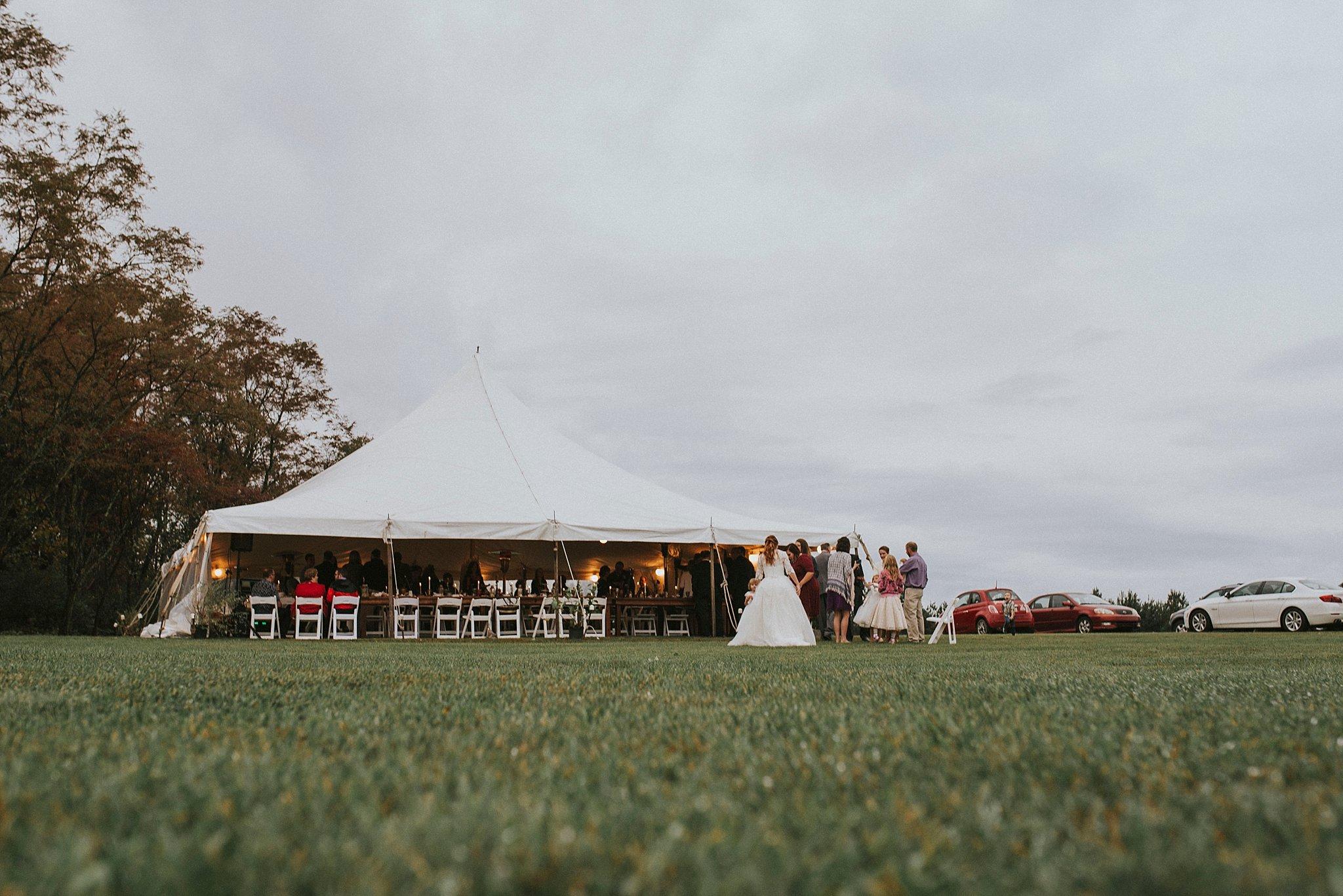 Backyard wedding - Pittsburgh