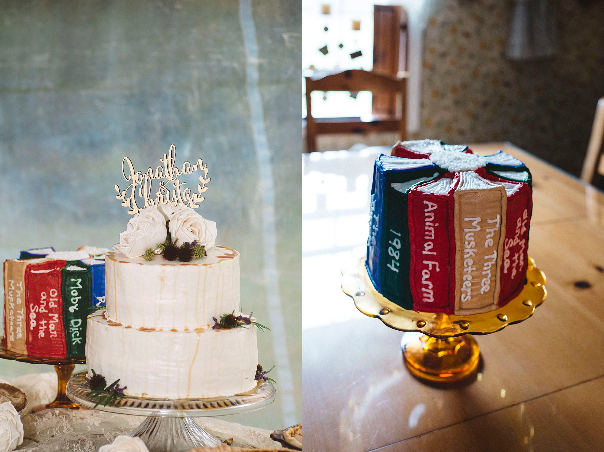 Groom cake - books