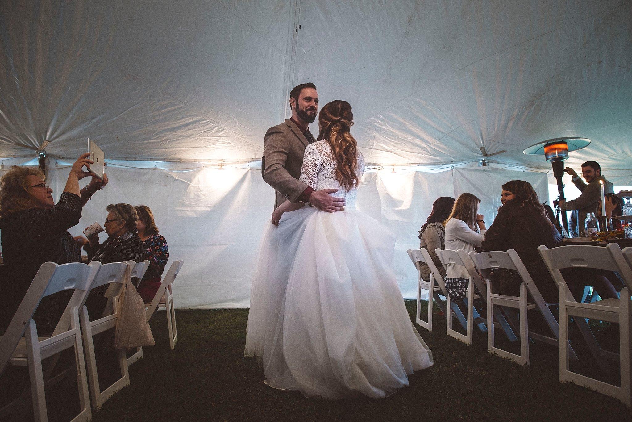 First dance - Pittsburgh wedding