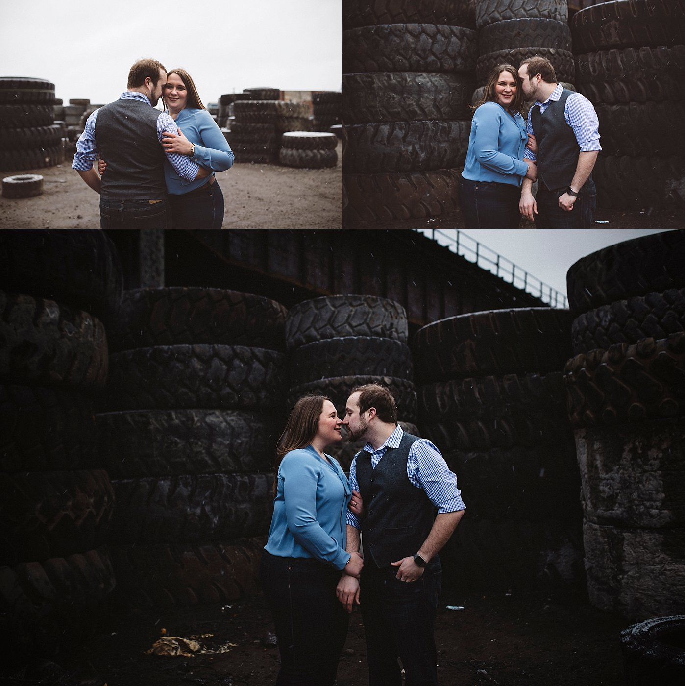 Tire yard Engagement | Sandrachile.com