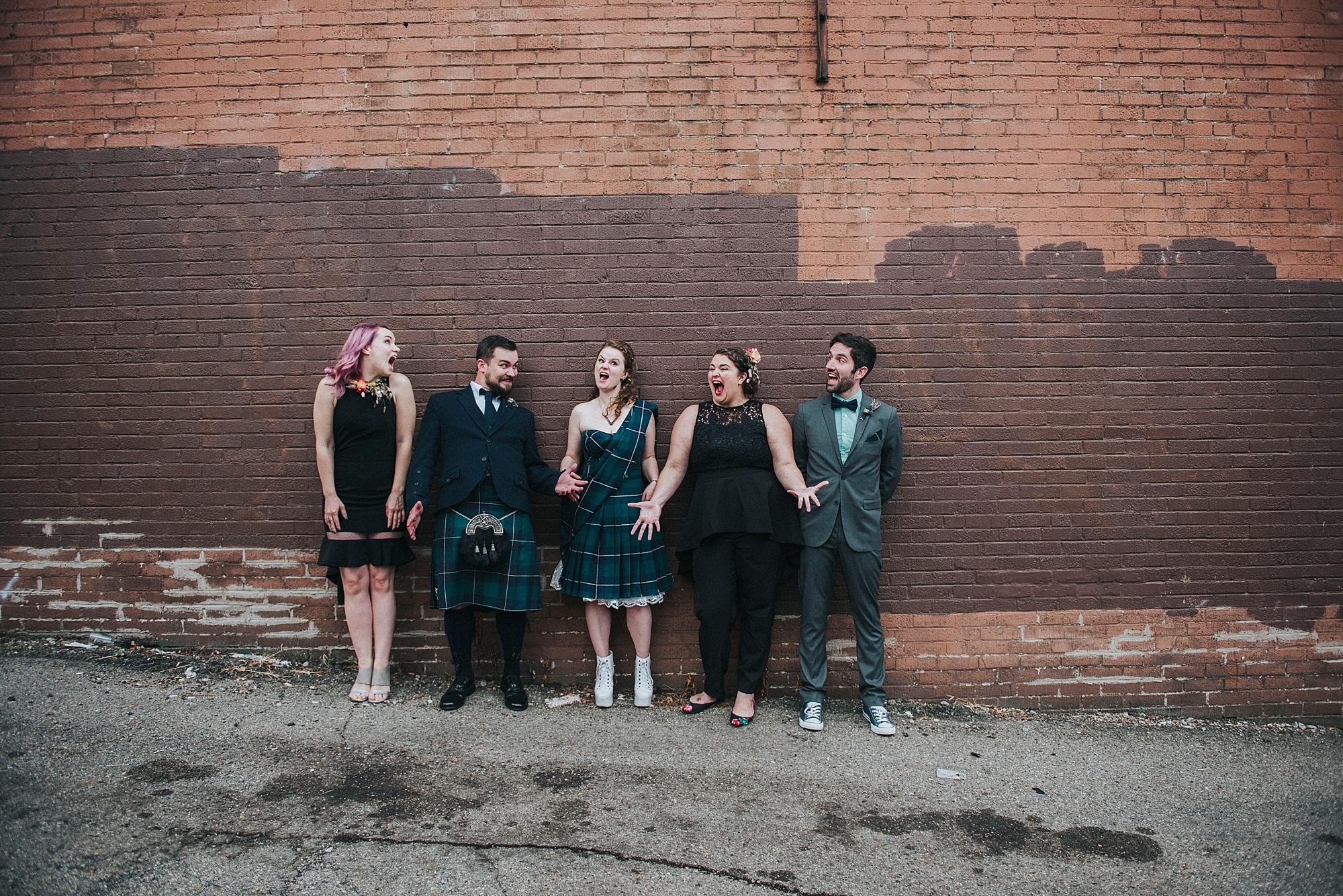 Pittsburgh Alternative Wedding Photography Sandrachile