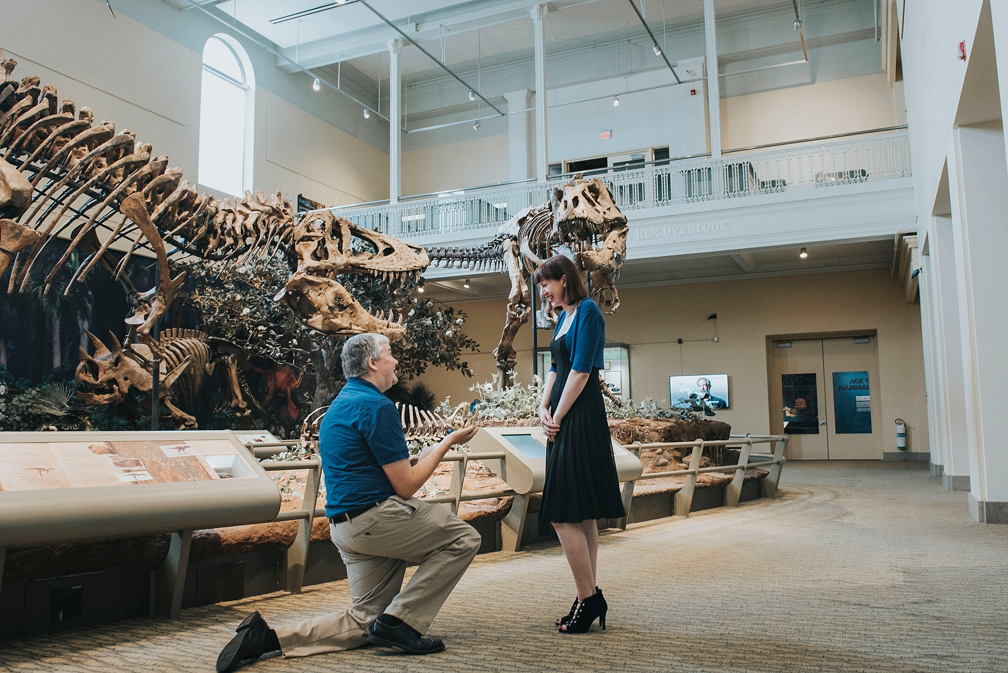 Proposal at Carnegie museum Pittsburgh