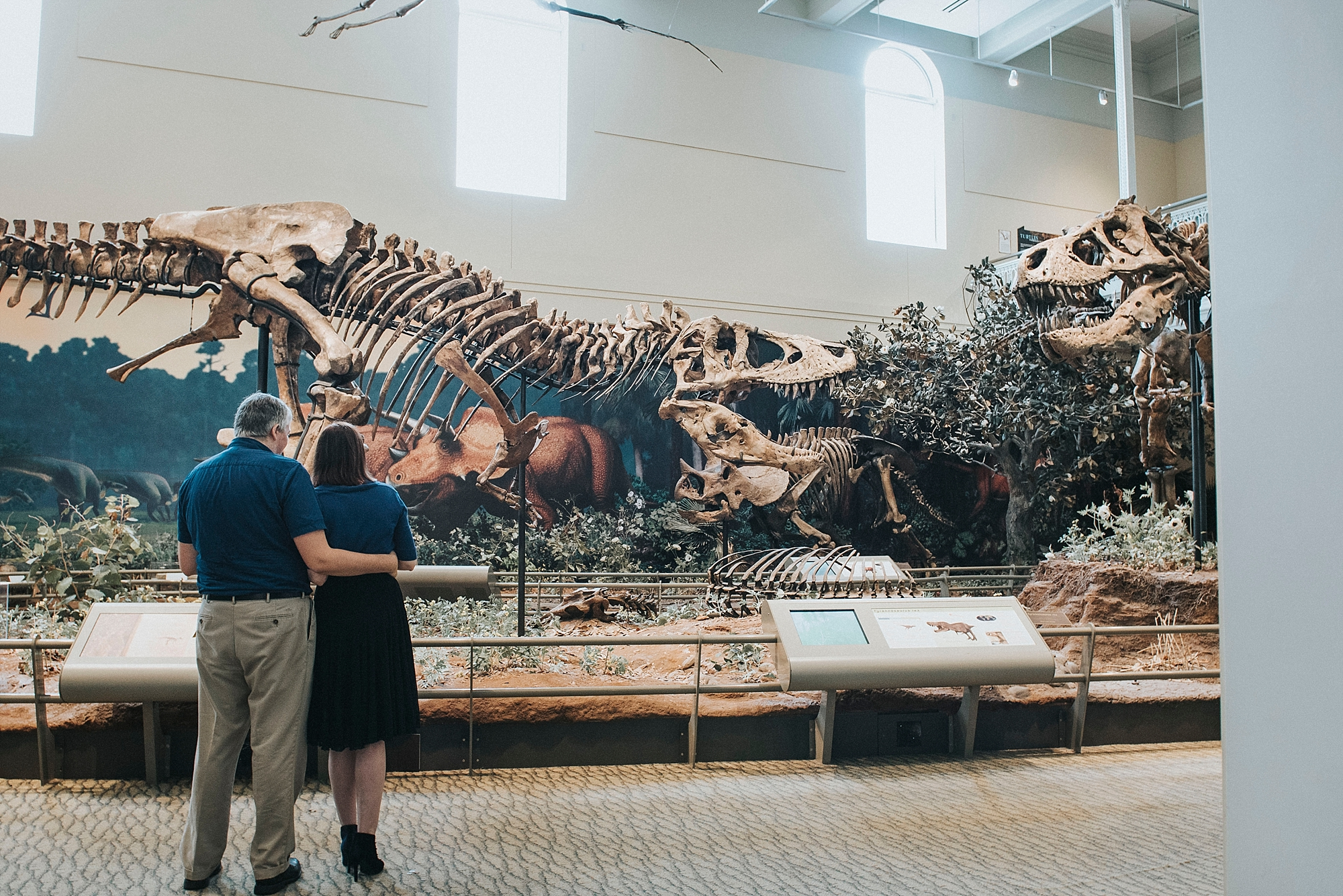 Proposal at the T-REX, Pittsburgh Museum