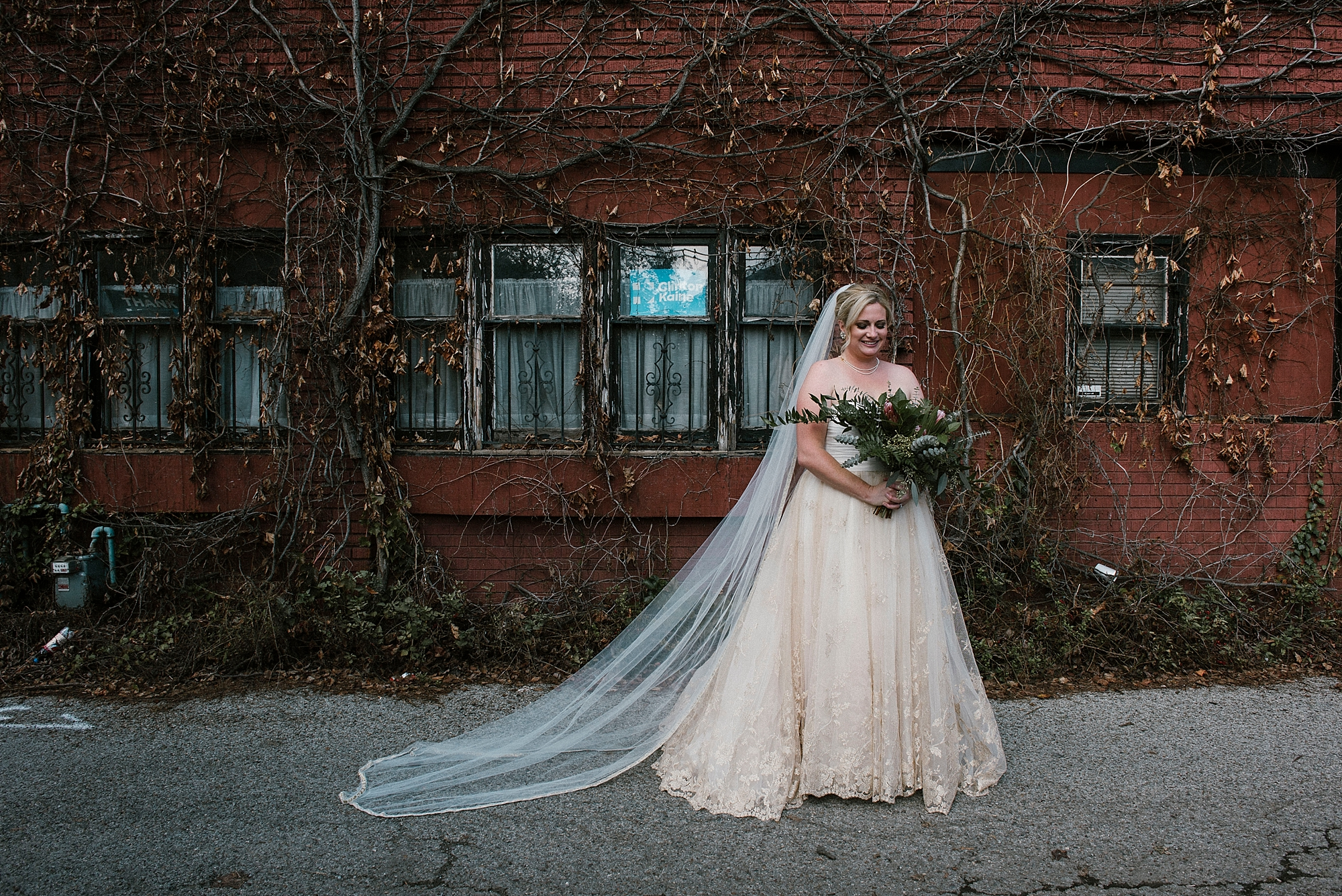 Bride wedding dress North Side Pittsburgh
