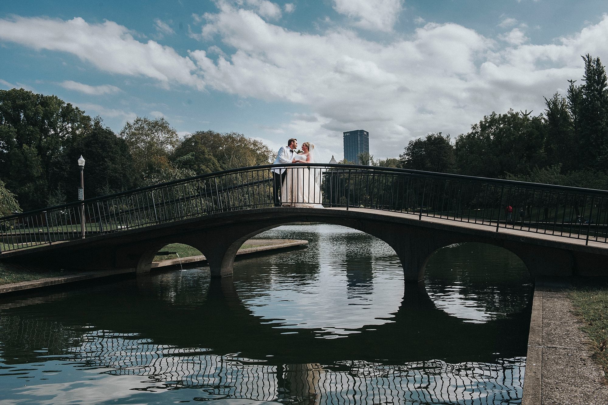 North Side Park wedding