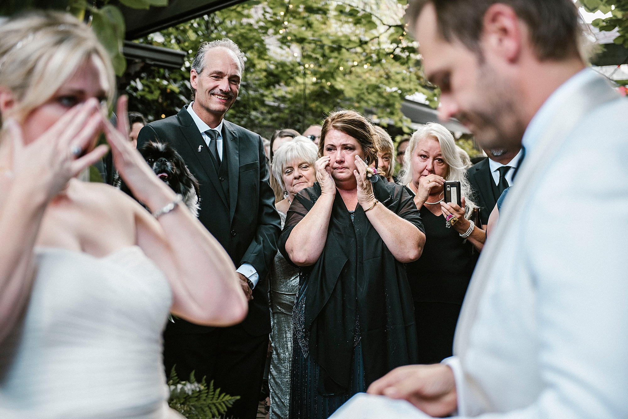 Weddings are emotional - Pittsburgh wedding photographer