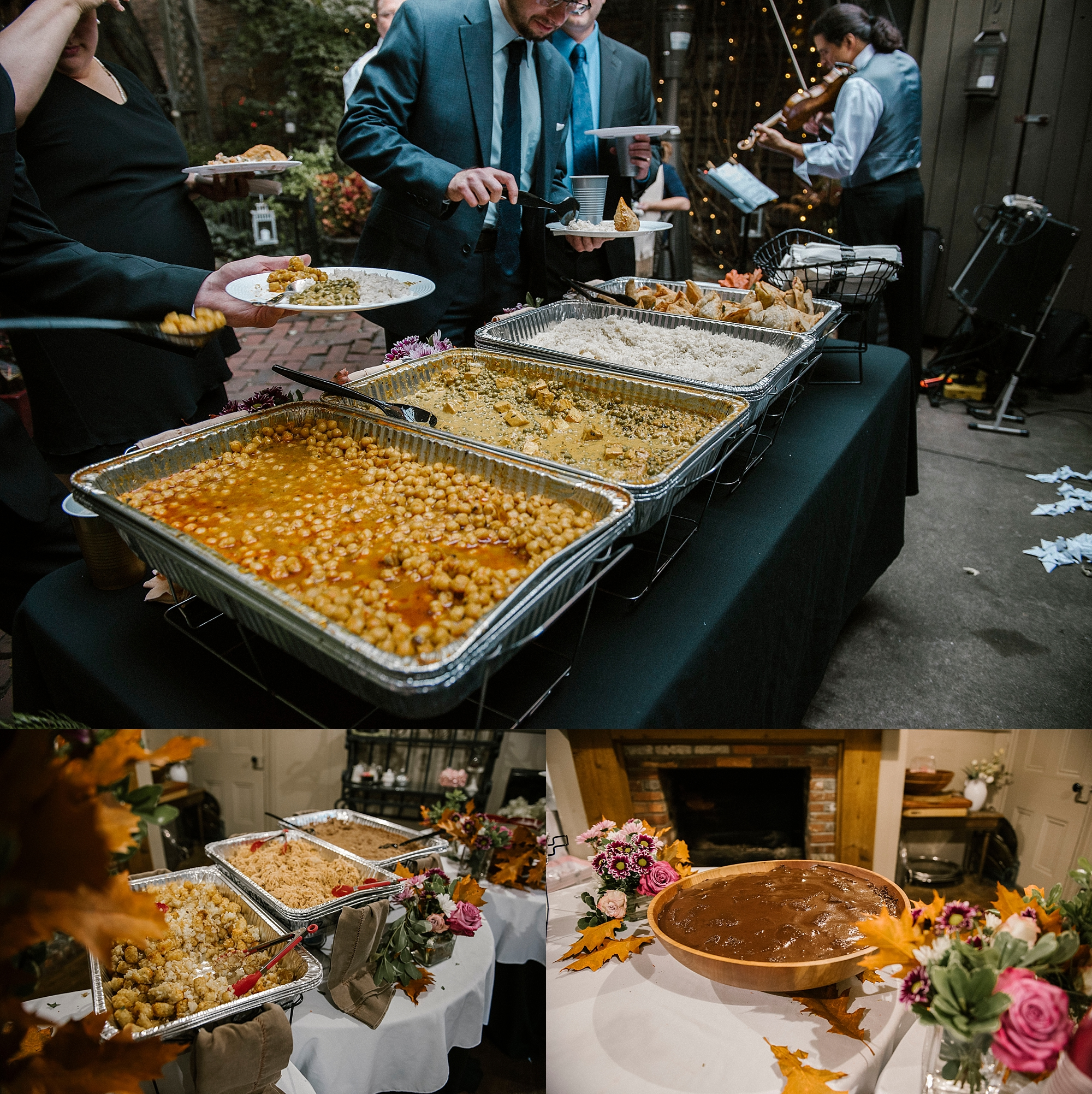 Vegan food wedding caterer Pittsburgh
