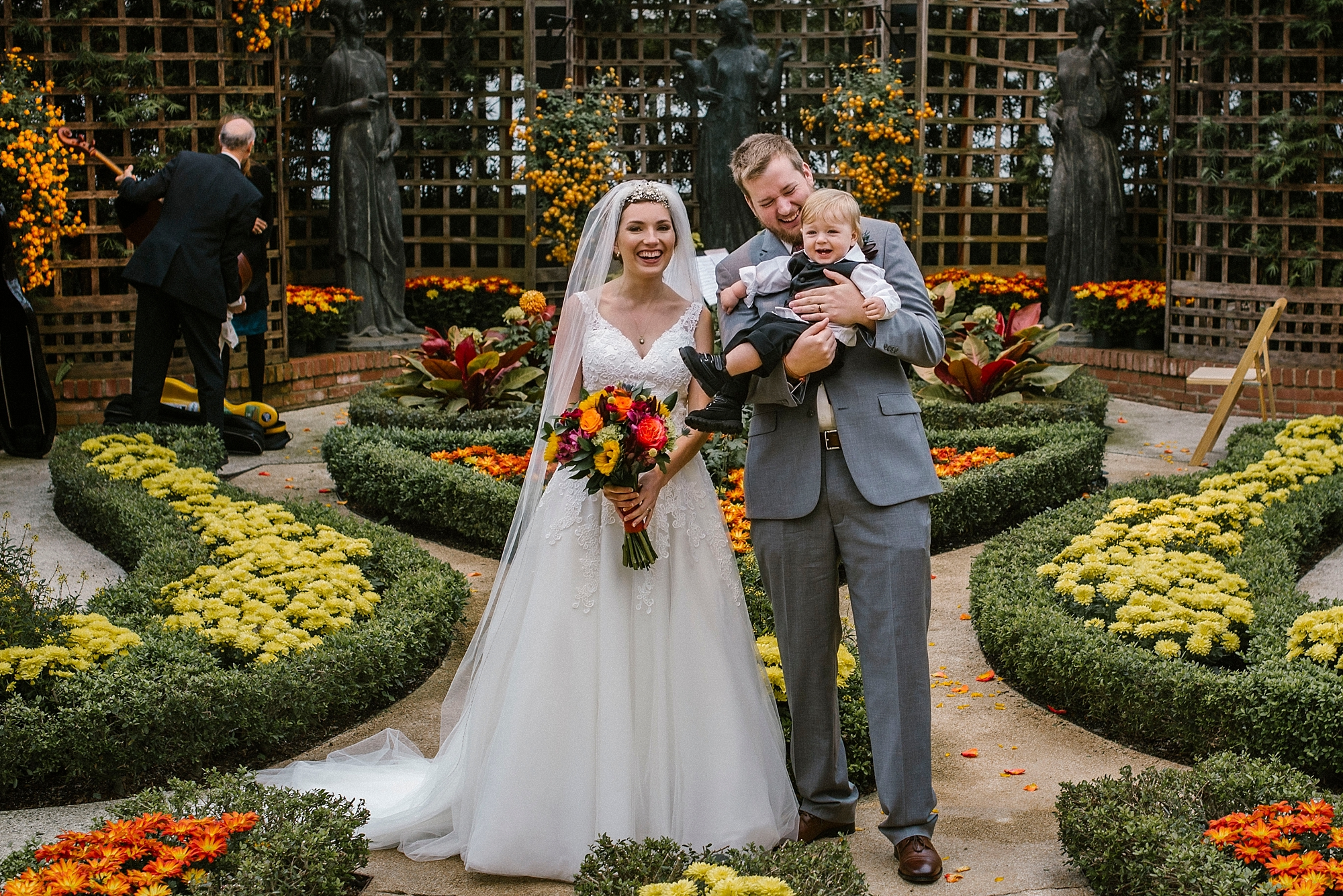 Wedding with a toddler Pittsburgh