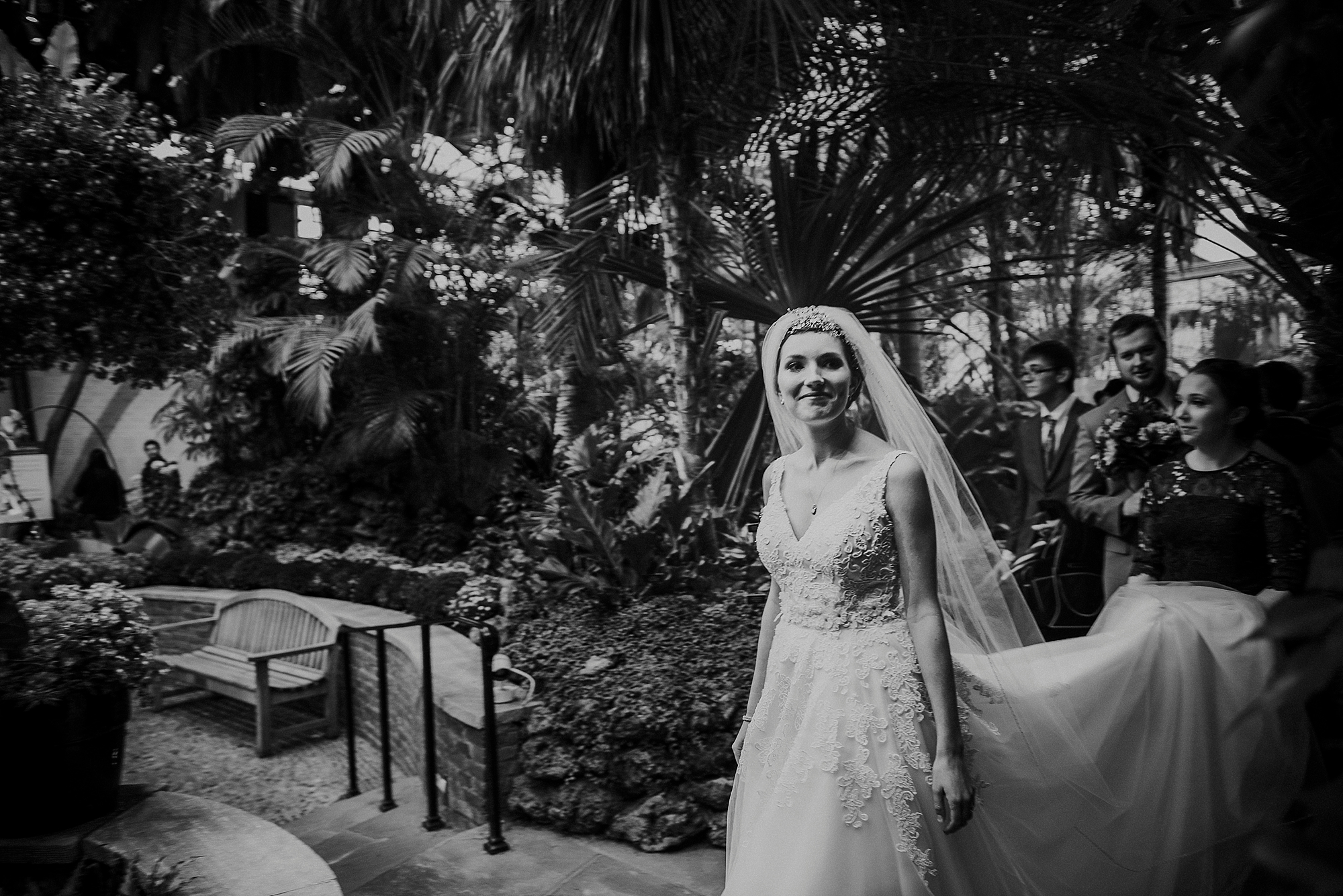 Wedding Phipps conservatory - Pittsburgh