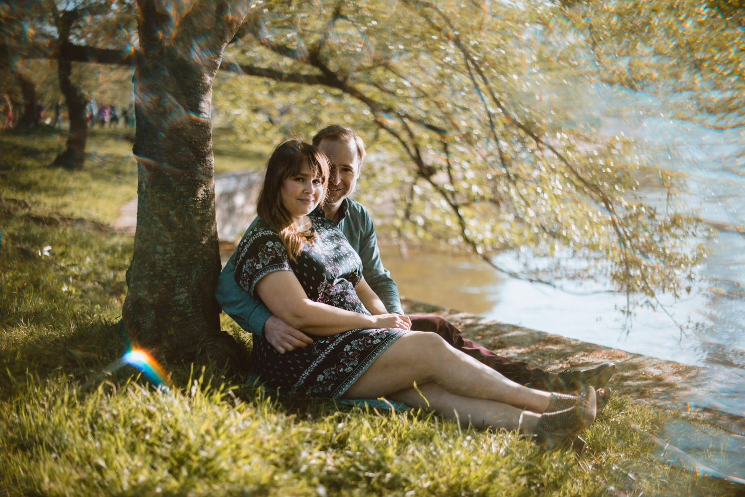 Couple session in nature DC