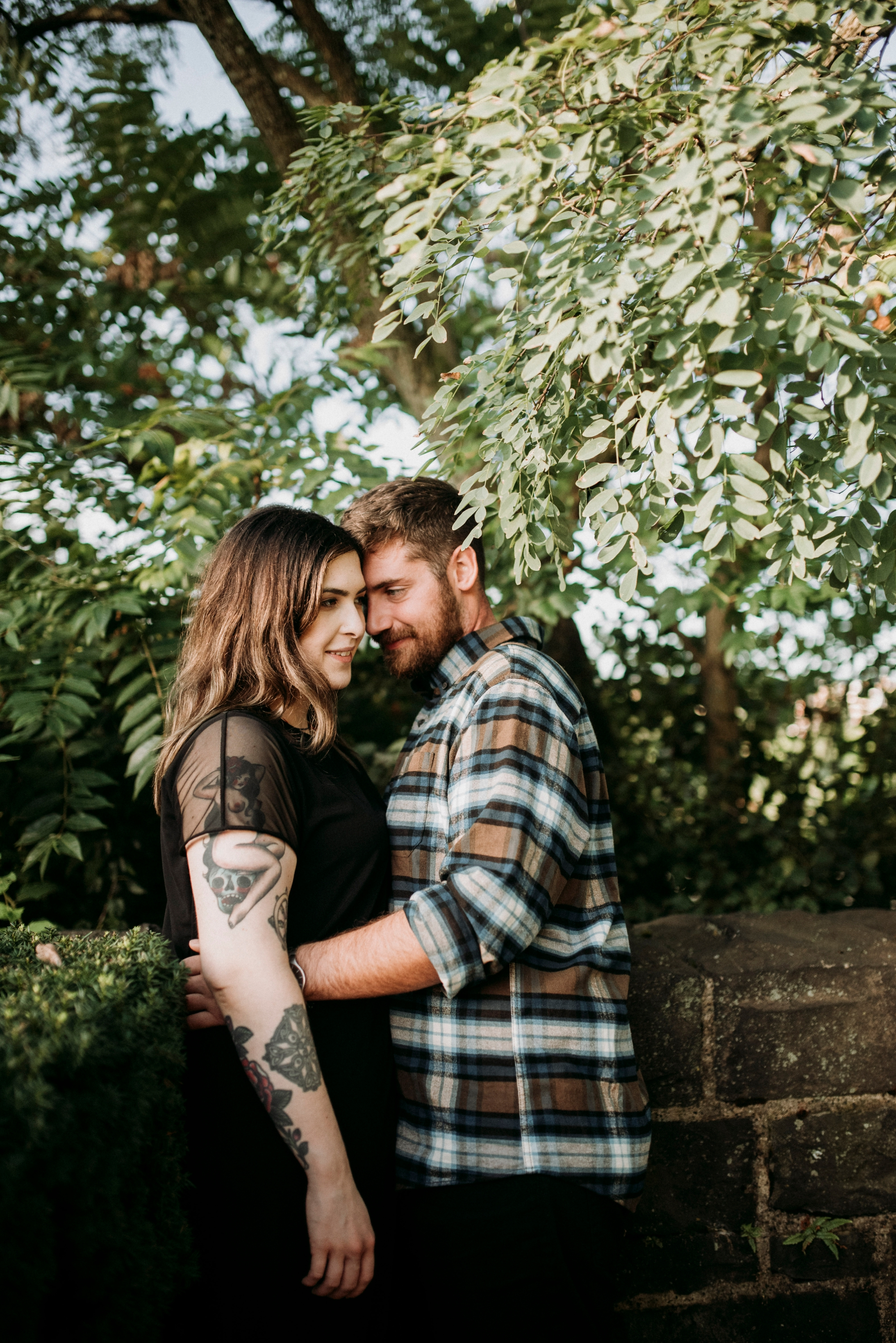 hipster engagement pictures