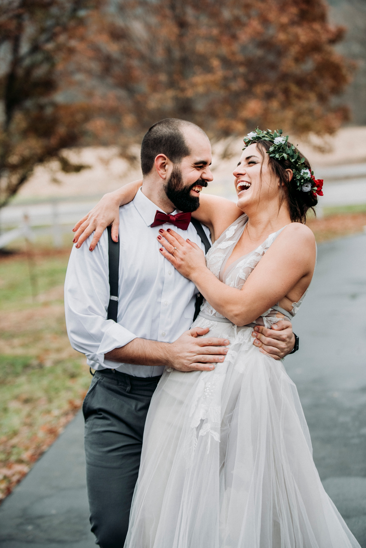 fun candid wedding photography